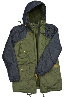 Куртка Volcom Starget Nuts Parka Fatigue Green