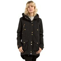 Куртка Volcom жен. Walk On By Parka Black