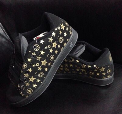 Кеды DVS Revival graphic girl blk nubuck star