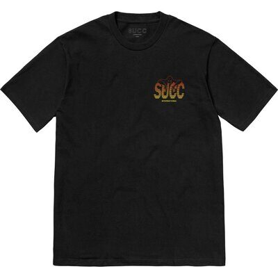Футболка Succ Gradient T-Shirt Black