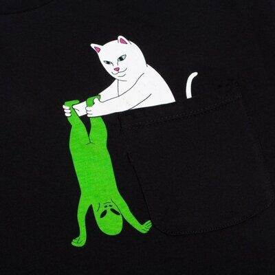 Футболка Ripndip Break Yo Self Pocket Tee Black