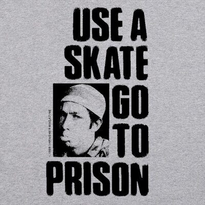 Футболка Thrasher Use A Skate Go To Prison Grey