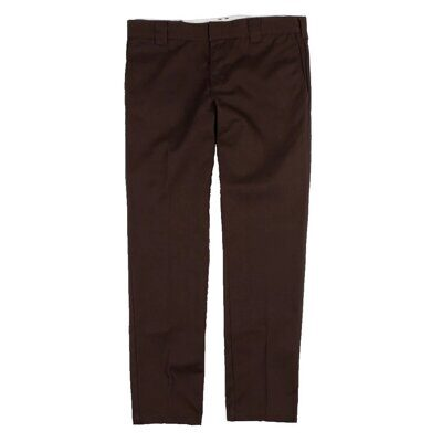 Брюки Dickies Slim Fit Work Pant Chocolate Brown