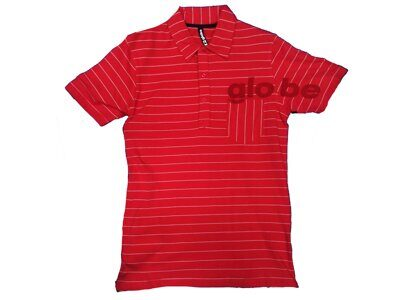 Футболка Globe Men's Holiday Polo Red White
