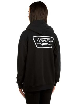 Толстовка VANS Full Patch Raglan Zip Hoodie Black