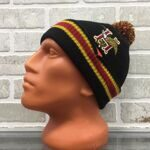 Шапка HUF Domestic Pom Beanie Black