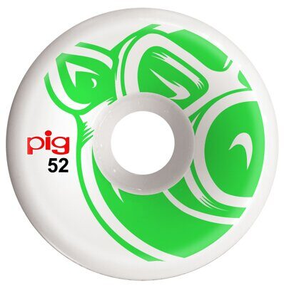 Колеса Pig 3D Conical Green 52 mm 101A