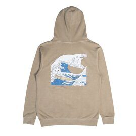 Толстовка Ripndip Great Wave Of Nerm Pullover Sweater Tan