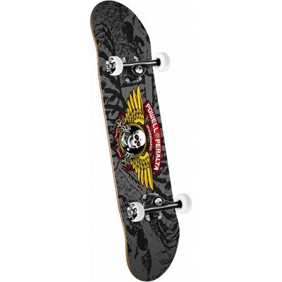 Скейтборд Powell Peralta Winged Ripper Black Gray 8.0
