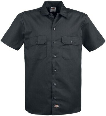Рубашка Dickies Short Sleeve Work Shirt Black