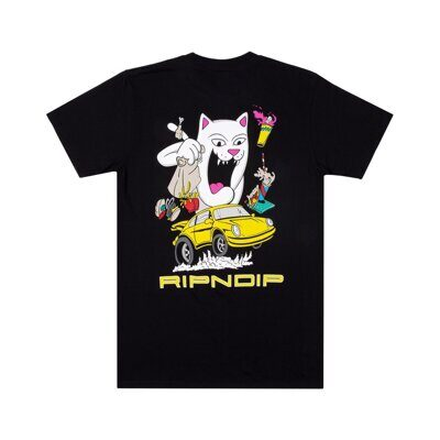 Футболка Ripndip Open Roads Tee Black