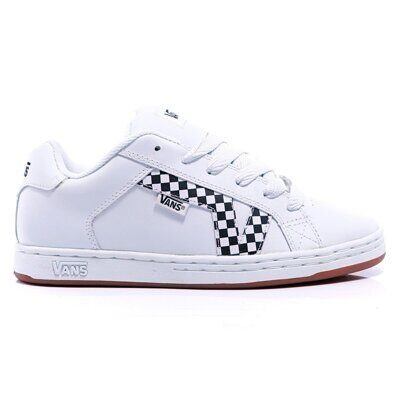 Кеды Vans Lavi Checkers White Black