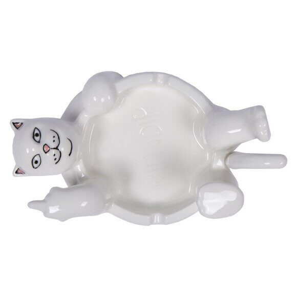 Пепельница Ripndip Lazy Nerm Ceramic Ash Tray White