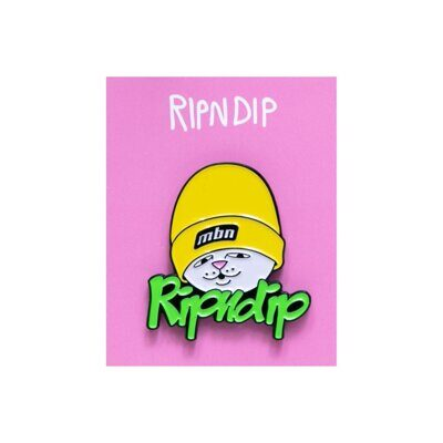 Значок Ripndip Must Be Ridin Pin