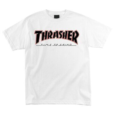 Футболка Independent x Thrasher TTG Regular T-Shirt White