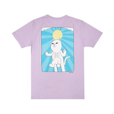 Футболка Ripndip Halo Tee Purple Mineral Wash