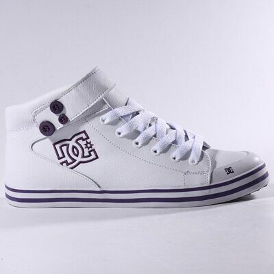 Кеды DC Women`s VENICE MID LE WHITE PURPLE