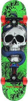 Скейтборд Powell Peralta Skull & Snake One Off Green 7.75""