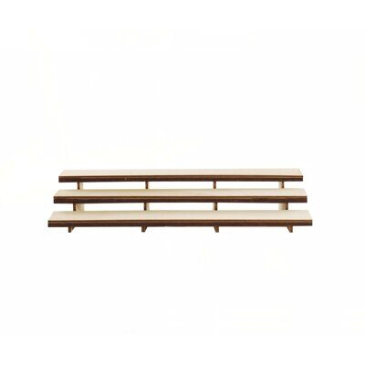 Фигура Pars stadium triple bench wooden top