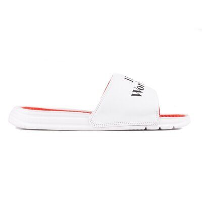 Шлепанцы HUF Love Slide White