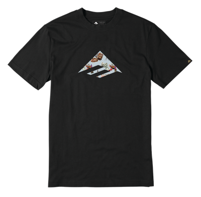 Футболка Emerica Emerica Triangle - black