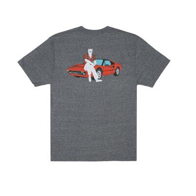 Футболка Ripndip Nermal P.I Tee Heather Grey