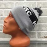 Шапка HUF DBC Pom Beanie Grey Heather