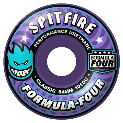 Колёса SPITFIRE F4 CLASSIC PURPLE 54mm 101a