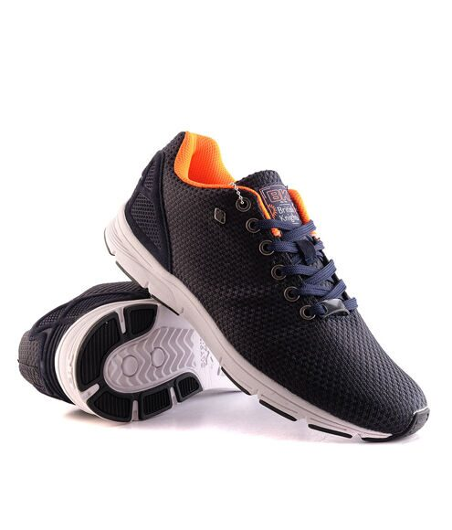 Кеды British Knigths Jump Navy Orange