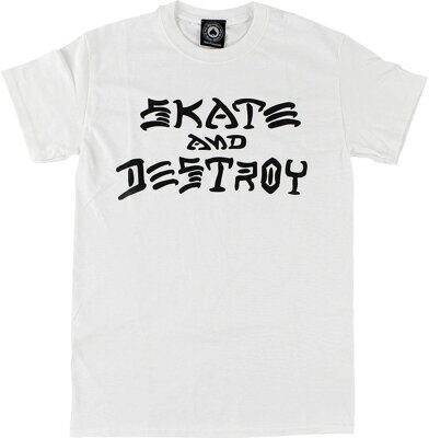 Футболка Thrasher Skate And Destroy White