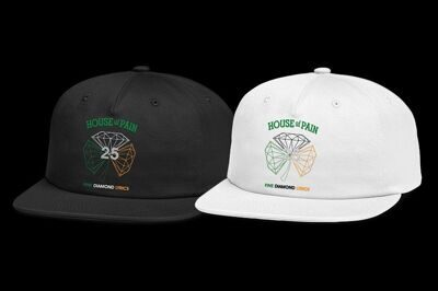 Бейсболка Diamond x H.O.P Diamond Unstructured Snapback White