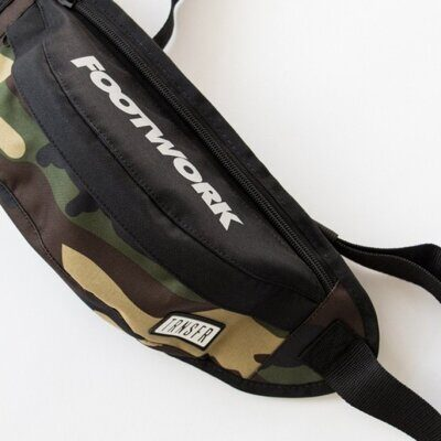Сумка на пояс Transfer X Footwork black camo