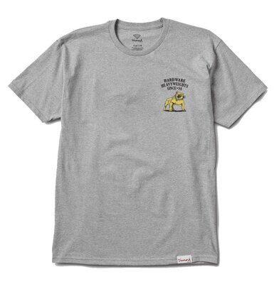 Футболка Diamond Bulldogs Tee Heather Grey
