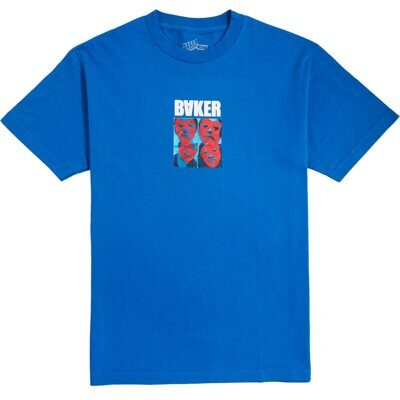 Футболка BAKER POLYRHYTHM ROYAL BLU TEE BLUE