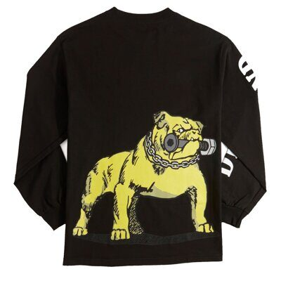 Лонгслив Diamond Bulldogs Tee Black