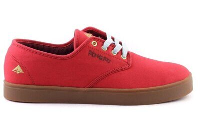 Кеды Emerica Laced By Leo Romero Red Rouge Brown Marron