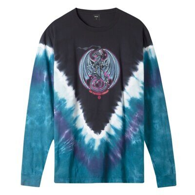 Лонгслив HUF The Magic Dragon L/S Tee Beryl Green