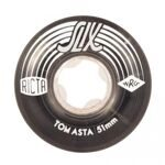 Колеса Ricta Tom Asta Crystal Slix Clear Black 99a 51mm