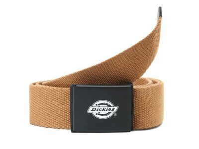 Ремень Dickies Orcutt Webbing Belt Brown Duck