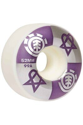 Колеса ELEMENT BAM HEARTAGRAM 52mm